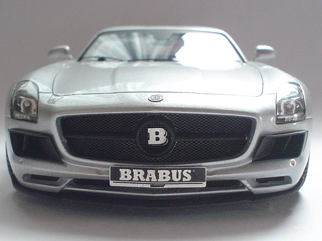 Mercedes SLS - Brabus Version Modeli14