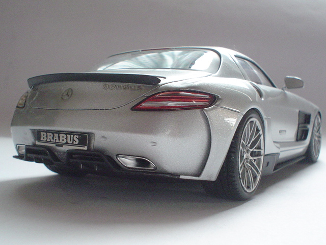 Mercedes SLS - Brabus Version Modeli16