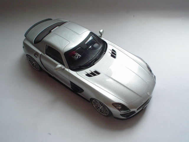 Mercedes SLS - Brabus Version Modeli17