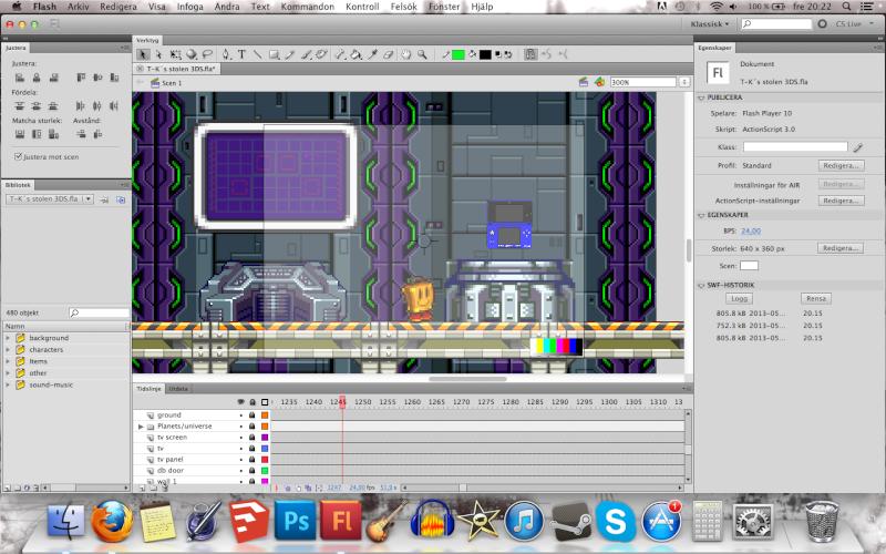Trying to make flashback scene! Screen12