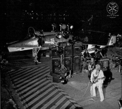 JOHNNY sur le Foch le 29 Septembre 1979 F791010