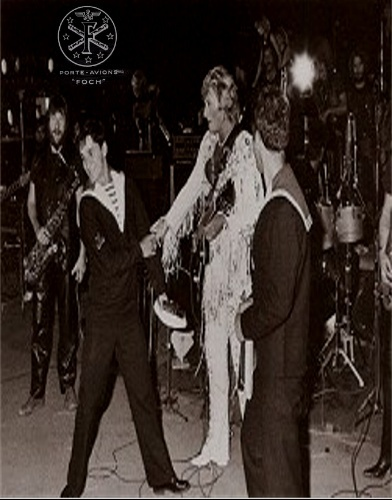 JOHNNY sur le Foch le 29 Septembre 1979 Pogne110