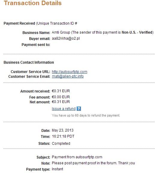 My payment-autosurfptp 111
