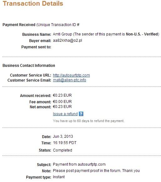 My payment-autosurfptp 114