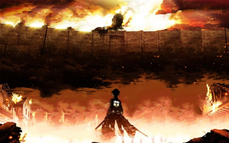 [manga/anime] Shingeki no Kyojin (L'attaque des Titans). Attack10