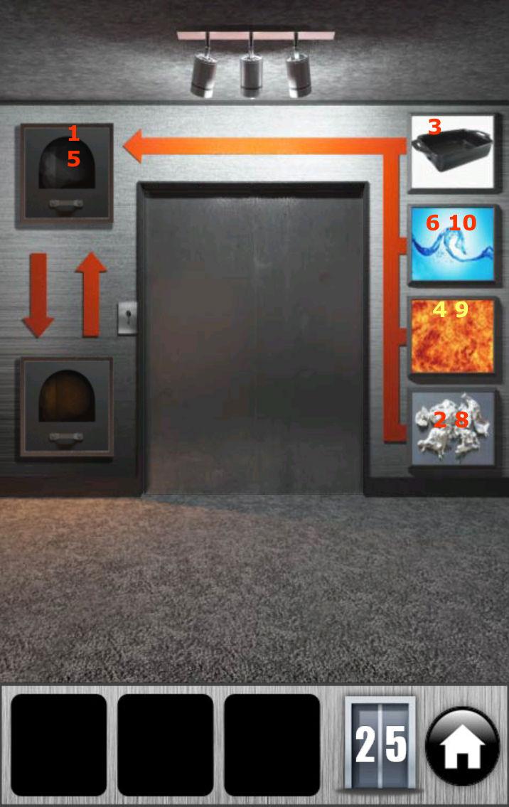 under doors (100 doors) 100-do10