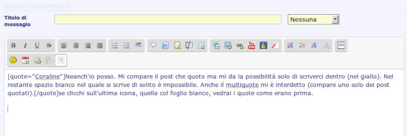 Spiegazione del disservizio di oggi: Impossibile inviare messaggi Scherm11