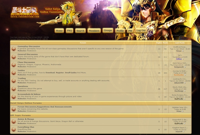 Saint Seiya Online 3f10