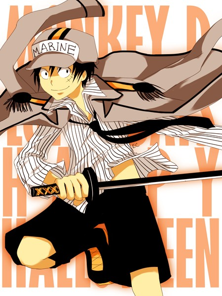 Galerie d'images de Monkey D. Luffy One_pi10