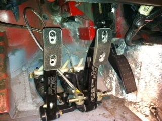 Floor mounted Brake Pedal Tilton13