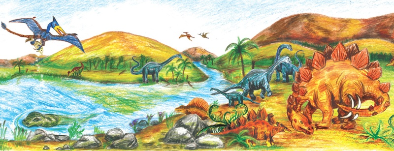 eure dinosaurier-Bilder Bordue16