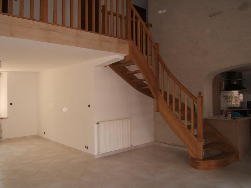 réalisation d'escalier escaliers Dscf0311