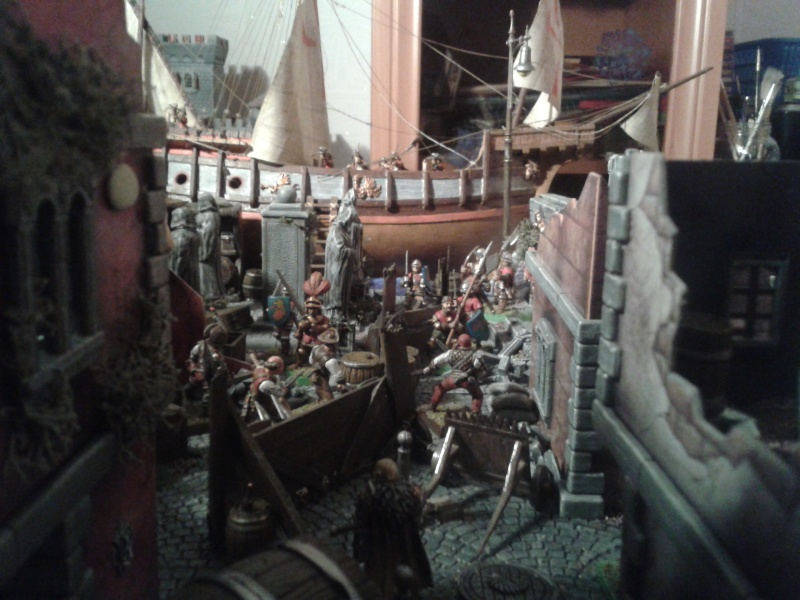 Waterfront Mordheim. battle is in full swing! 2013-015
