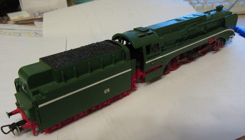 Modell der BR 18 201 erbaut 1990 18-0310