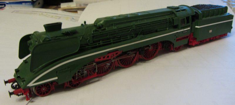 Modell der BR 18 201 erbaut 1990 18-0410