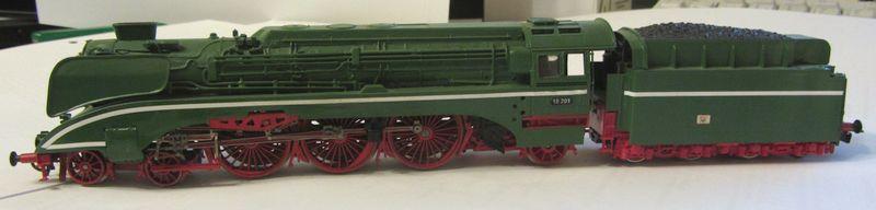 Modell der BR 18 201 erbaut 1990 18-0510