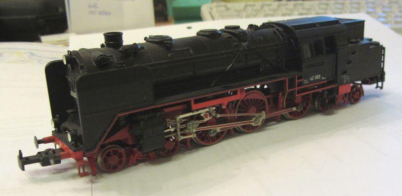 Meine vorletzte H0-Lok BR 62 003 62-0110
