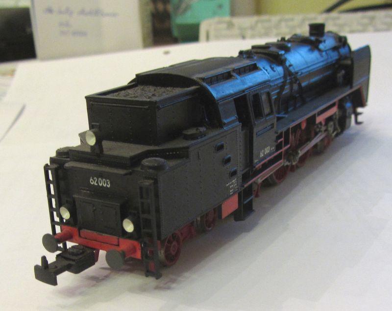 Meine vorletzte H0-Lok BR 62 003 62-0210