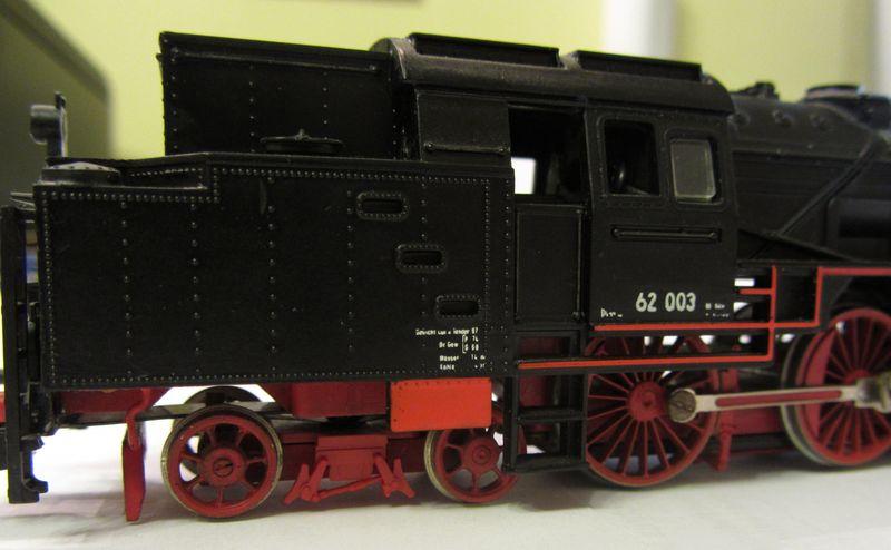 Meine vorletzte H0-Lok BR 62 003 62-0510