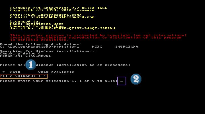 حذف كلمة مرور الويندوز 7    xp   vista Www_sh12