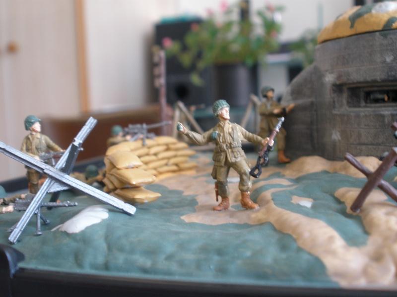 Diorama bunker allemand attaqué par des paras' américains P6140212
