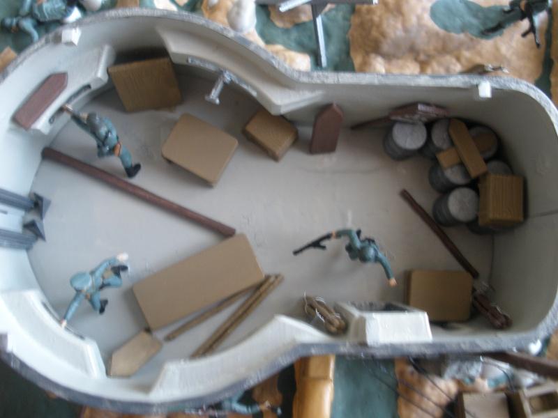 Diorama bunker allemand attaqué par des paras' américains P6140221