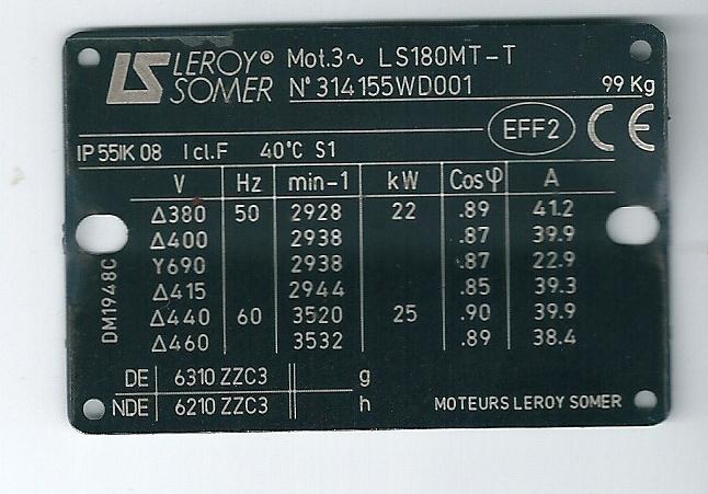 Démarage moteur +chute de tension + éclairage à décharge  Numari10
