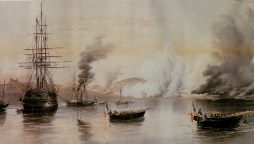 [ Histoires et histoire ] Expéditions maritimes en Baltique 1854-1855 A_boma10