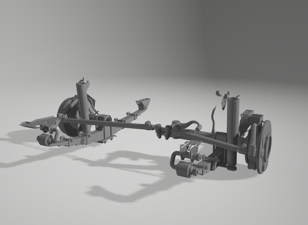 Jeep Willys en résine 3D au 1/24 et au 1/12 avec épave - Page 2 1110