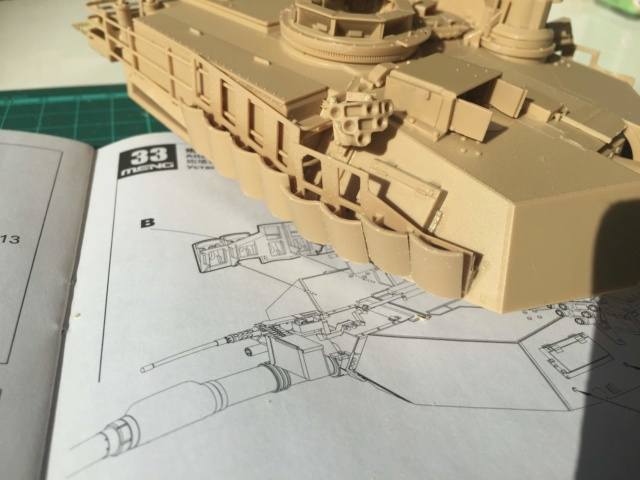 M1A2 Abrams Tusk MENG 1/35 Termine - Page 2 1112