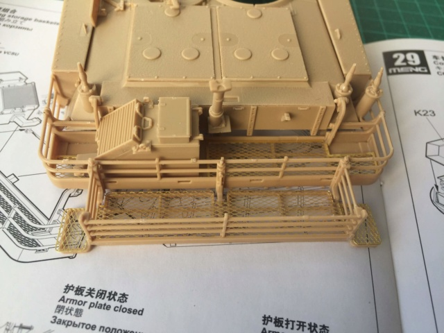 M1A2 Abrams Tusk MENG 1/35 Termine - Page 2 117