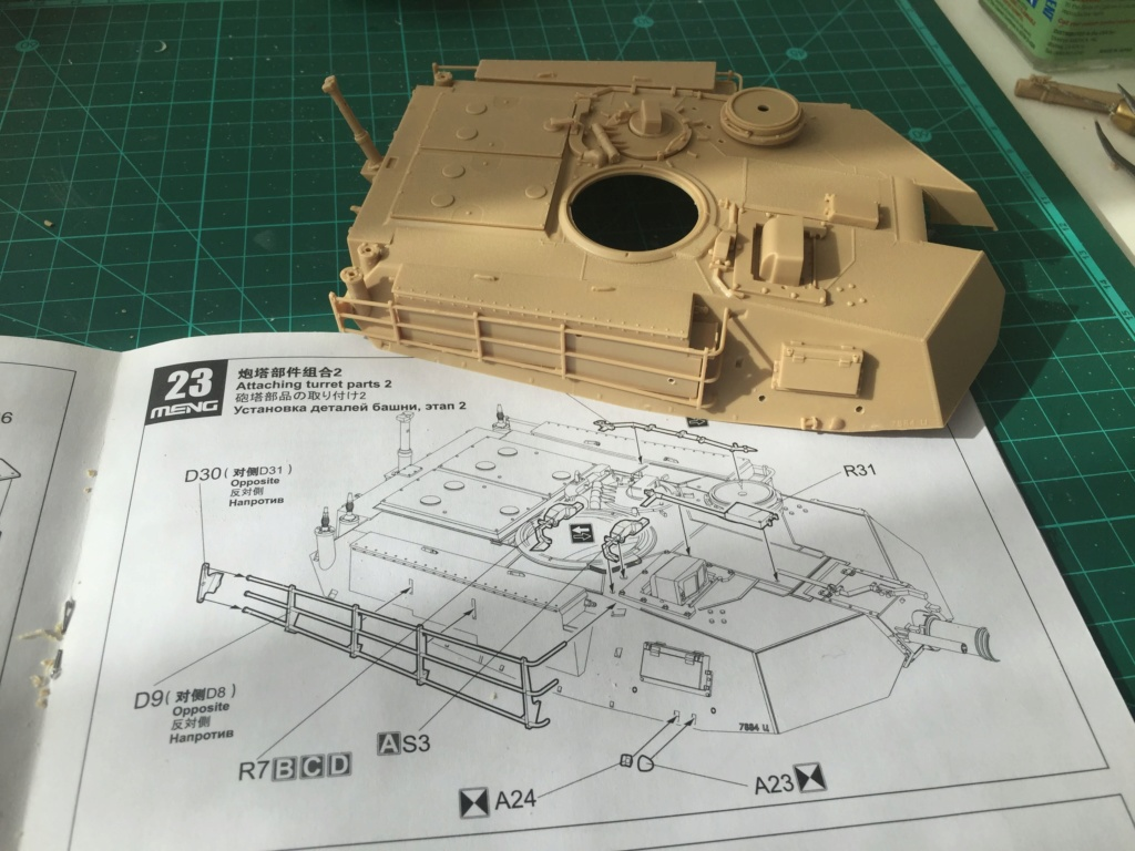 M1A2 Abrams Tusk MENG 1/35 Termine - Page 2 1311