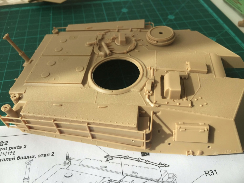 M1A2 Abrams Tusk MENG 1/35 Termine - Page 2 1411