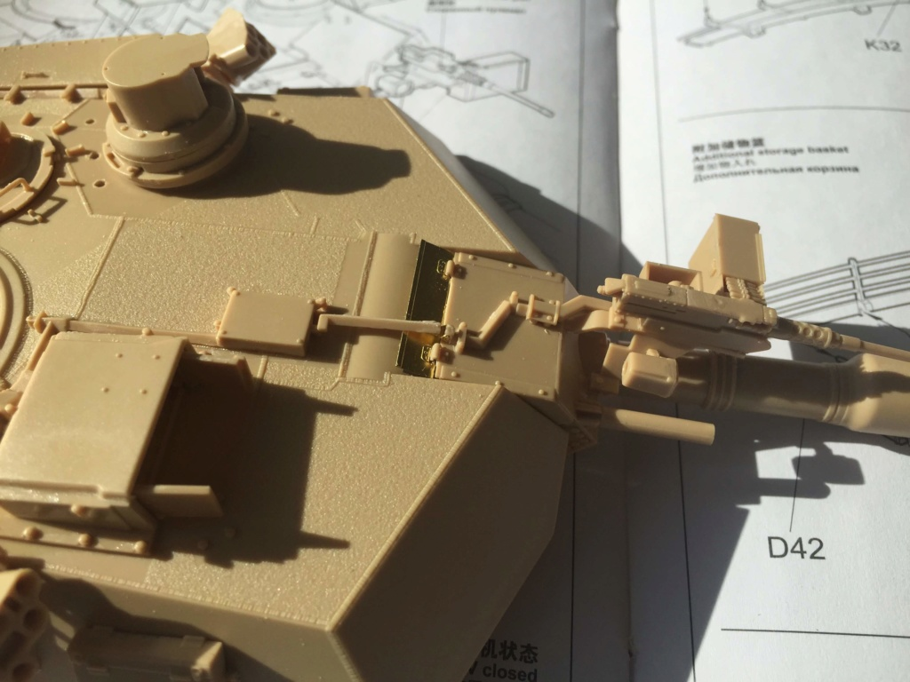 M1A2 Abrams Tusk MENG 1/35 Termine - Page 2 1611