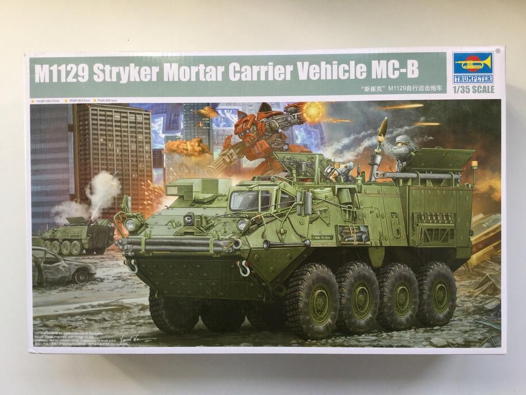 M1129 Stryker Mortar Carrier Vehicle MC-B Tumpeter 1/35 2018-011