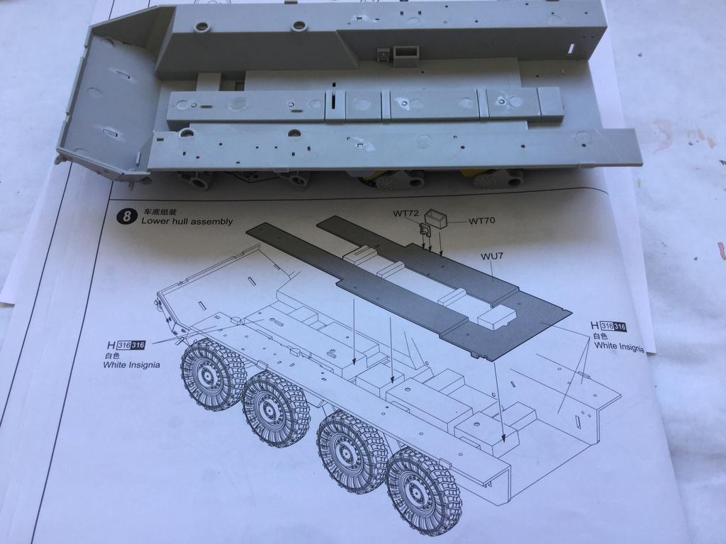 M1129 Stryker Mortar Carrier Vehicle MC-B Tumpeter 1/35 2018-028