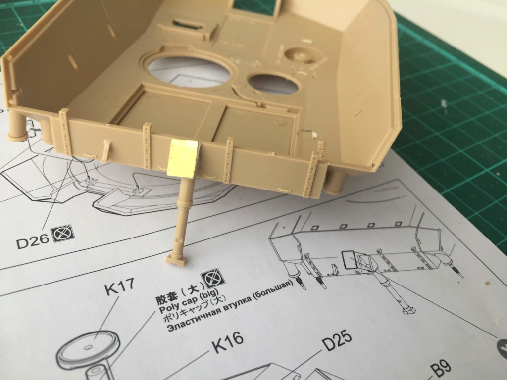 M1A2 Abrams Tusk MENG 1/35 Termine - Page 2 314