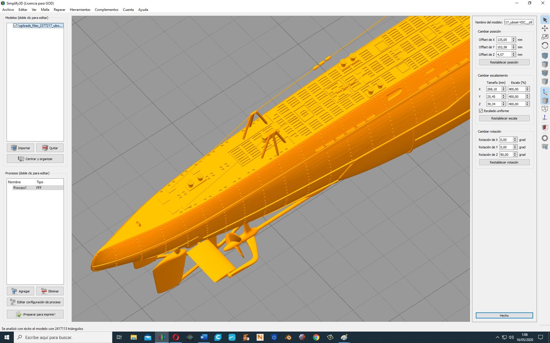 IMPRESSION 3D 317
