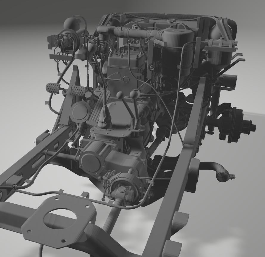 Jeep Willys en résine 3D au 1/24 et au 1/12 avec épave - Page 4 3_410