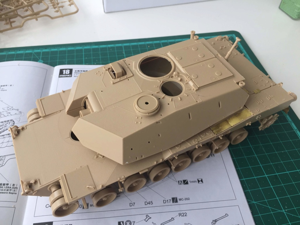 M1A2 Abrams Tusk MENG 1/35 Termine - Page 2 513