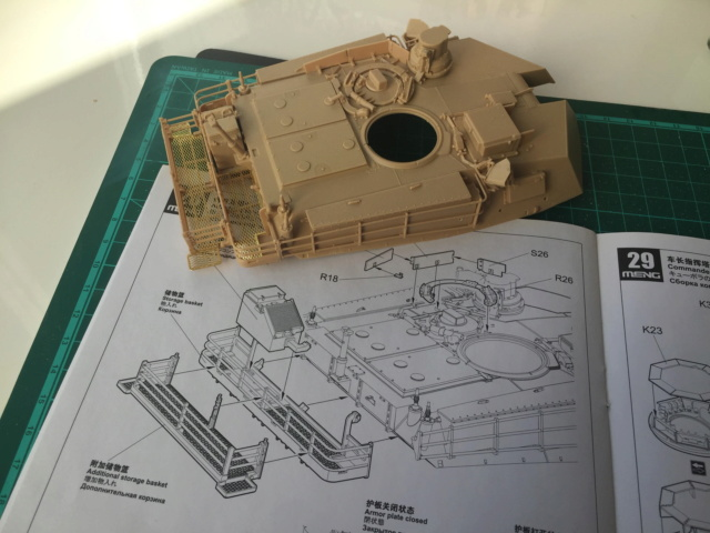 M1A2 Abrams Tusk MENG 1/35 Termine - Page 2 813