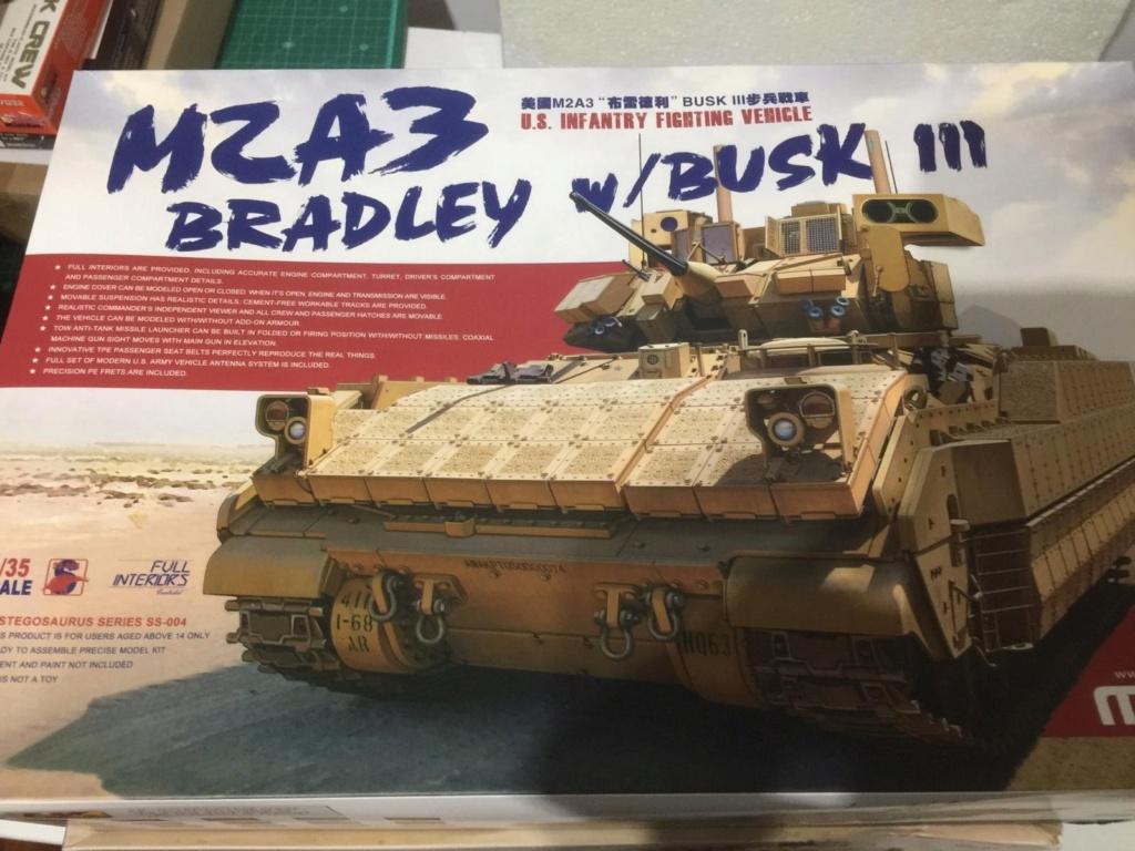 Bradley M2A3 with Busk III - Meng -1/35 TERMINE 854e7010
