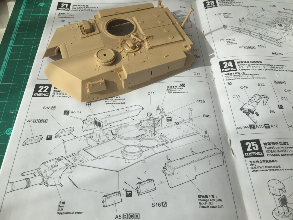 M1A2 Abrams Tusk MENG 1/35 Termine - Page 2 913