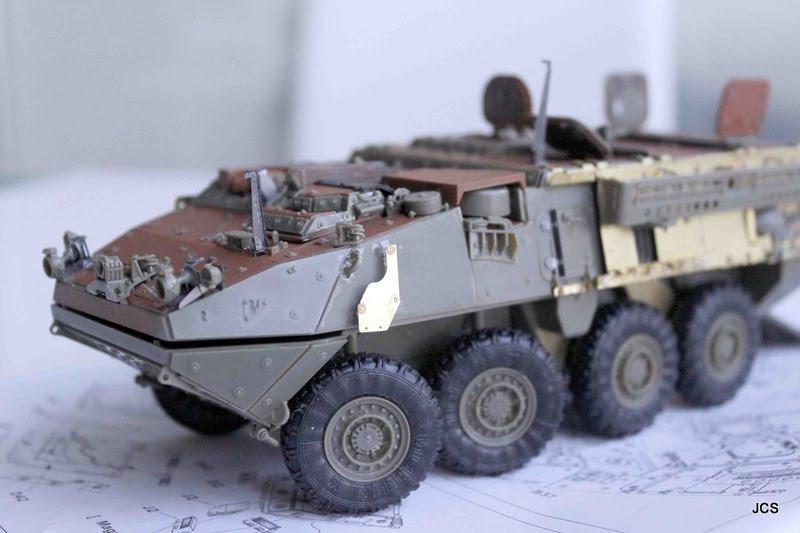 """Stryker M1131 """" Desert Storm """" Trumpeter 1/35 _mg_5810"""