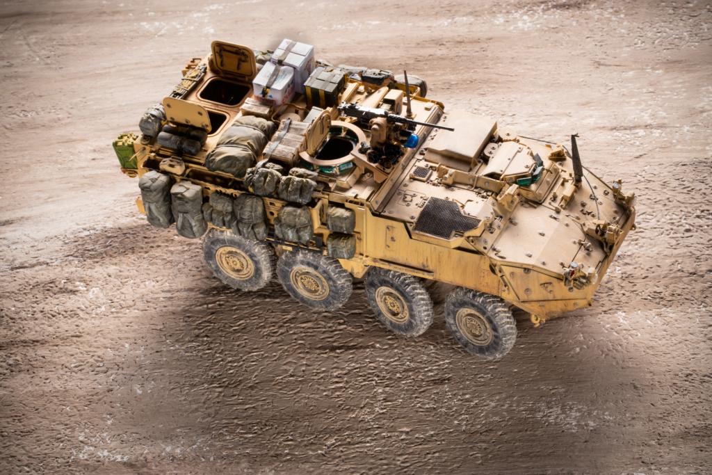 "Stryker M1131 "" Desert Storm "" Trumpeter 1/35 Termine _mg_9712"