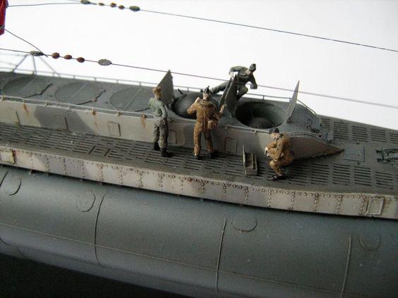 Sous-marin U-Boat VIID résine 3D au 1/100 - Page 6 A4658610