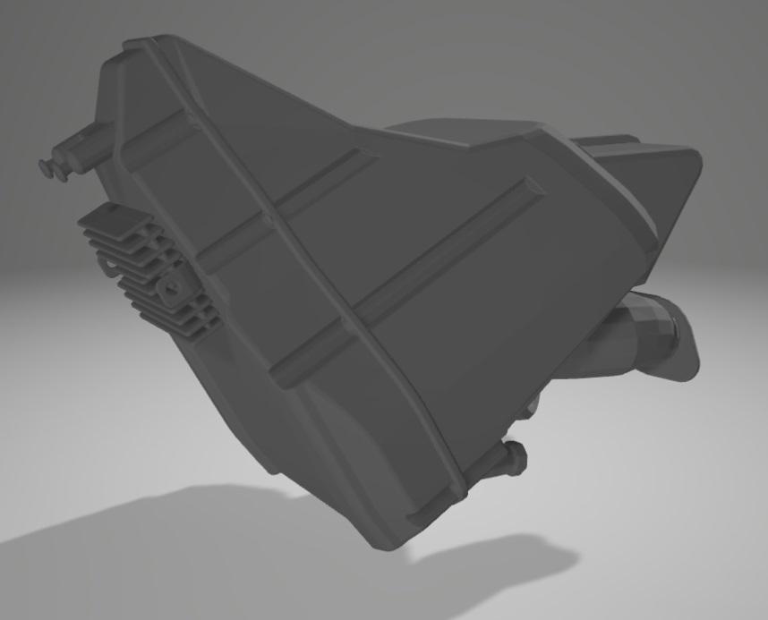 Moto Ducati Scrambler 1/10 3D Bloc_a10
