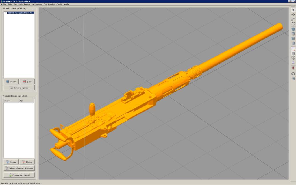 Patrouilleur fluvial  PBR MK2 1/35 - Impression 3D personnelle Cal_5010