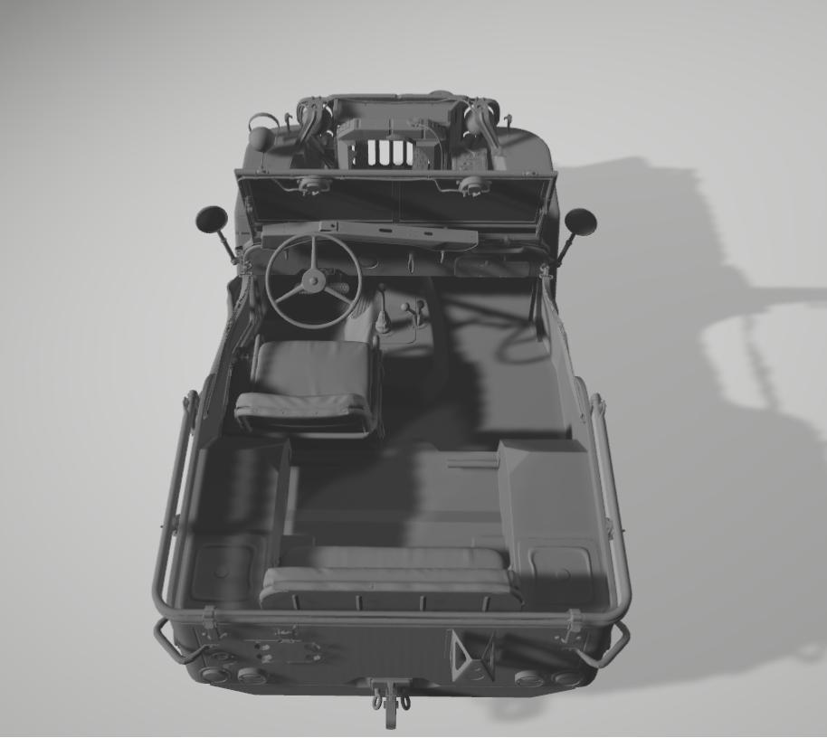 Jeep Willys en résine 3D au 1/24 et au 1/12 avec épave - Page 2 Captur10