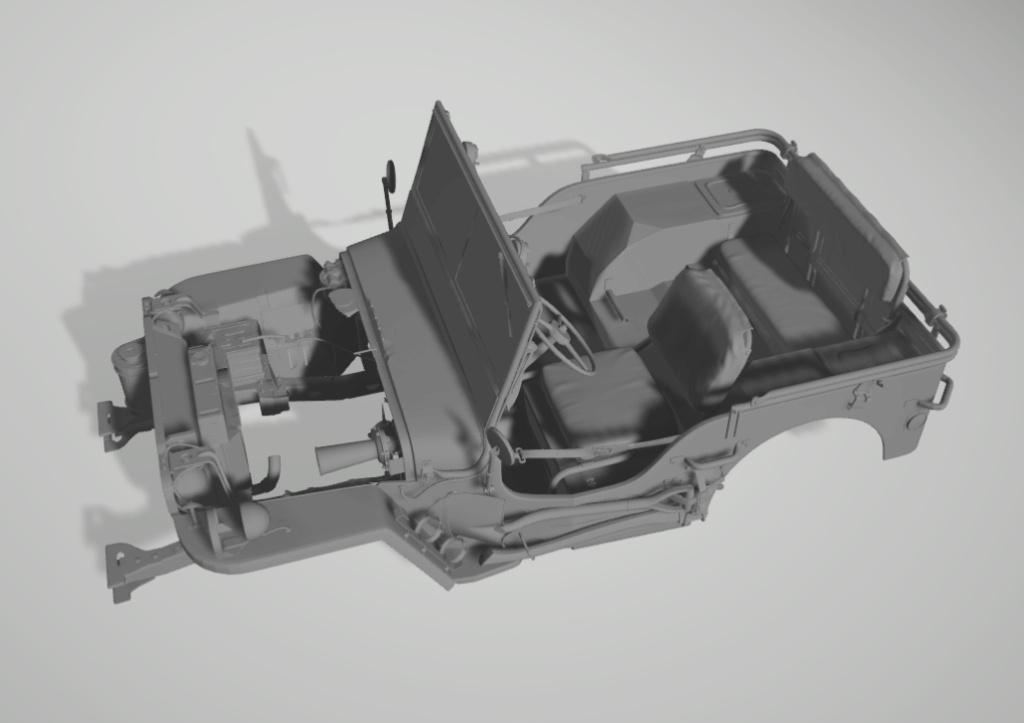 Jeep Willys en résine 3D au 1/24 et au 1/12 avec épave - Page 2 Captur12